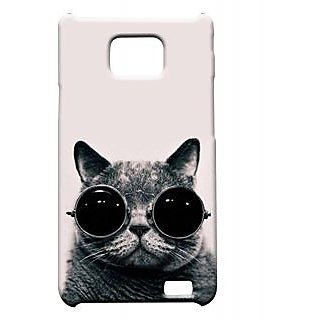 Pickpattern Back Cover For Samsung Galaxy S2 I9100 NAUGHTYCATS2