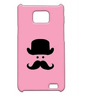 Pickpattern Back Cover For Samsung Galaxy S2 I9100 PINKMANMINIMALS2