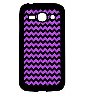 Pickpattern Back Cover For Samsung Galaxy Ace 3 S7272 PURPLEZIGZAGACE3