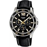 Casio Classic MTP-1356L-1AVDF-A725 Black/Black Analog Watch (For Men)