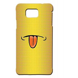 Pickpattern Back Cover For Samsung Galaxy Alpha TONGUEOUTSALP