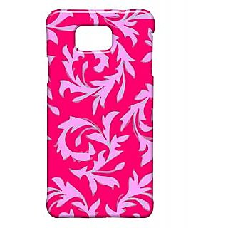 Pickpattern Back Cover For Samsung Galaxy Alpha REDLEAFSALP-27765