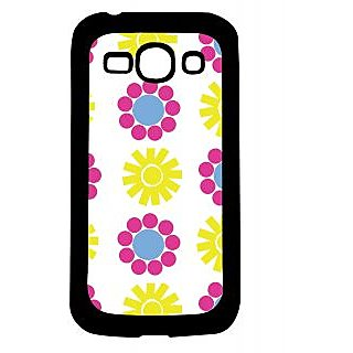 Pickpattern Back Cover For Samsung Galaxy Ace 3 S7272 SUN&FLOWERACE3