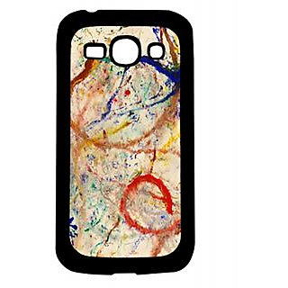 Pickpattern Back Cover For Samsung Galaxy Ace 3 S7272 BRUSHCOLORSACE3