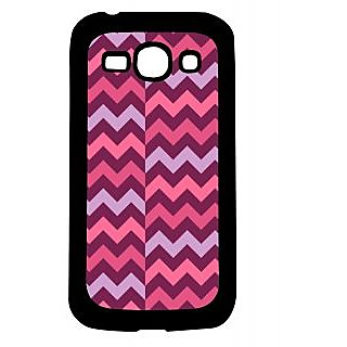 Pickpattern Back Cover For Samsung Galaxy Ace 3 S7272 PINK&PURPLEACE3