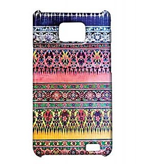 Pickpattern Back Cover For Samsung Galaxy S2 I9100 SHIMMERAZTECS2