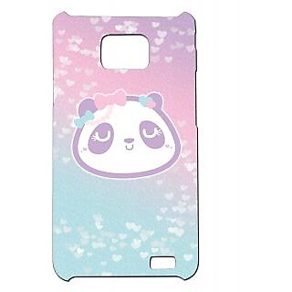 Pickpattern Back Cover For Samsung Galaxy S2 I9100 PINKPANDAS2