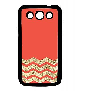 Pickpattern Back Cover For Samsung Galaxy Grand Quattro I8552 GOLDENORANGEQTR