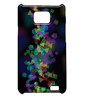 Pickpattern Back Cover For Samsung Galaxy S2 I9100 ABSTRACTPOLYGONSS2