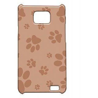 Pickpattern Back Cover For Samsung Galaxy S2 I9100 PAWPRINTOFKITTENS2