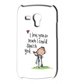 Pickpattern Back Cover For Samsung Galaxy S3 Mini I9192 Squishs3M 37441