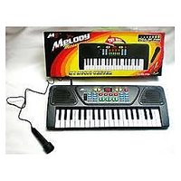 37 KEY BATTERY OPERATED MUSICAL KEYBOARD PIANO WITH MICROPHONE
