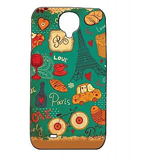Pickpattern Back Cover For Samsung Galaxy S4 I9500 Bluepariss4 38030