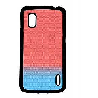 Pickpattern Back Cover For Lg Google Nexus 4 BLUESHADESN4-16798