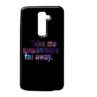 Pickpattern Back Cover For Lg G2 FARAWAYLGG2-15906