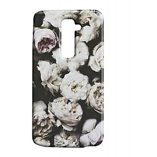 Pickpattern Back Cover For Lg G2 FLORALPAINTINGLGG2-15923