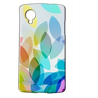 Pickpattern Back Cover For Lg Google Nexus 5 SAYITWITHCOLOURSN5-14770