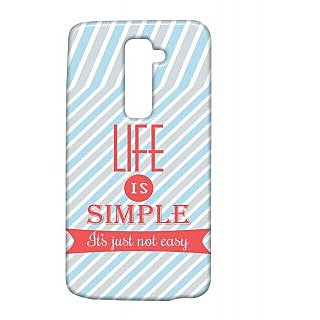 Pickpattern Back Cover For Lg G2 SIMPLELIFELGG2-15396