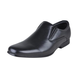 Franco Leone Stylish Black Formal Shoes