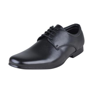 Franco Leone Men's Formal Shoes (Black)