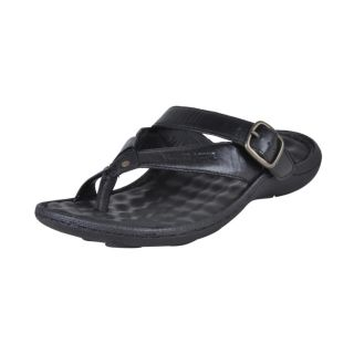 Franco Leone Stylish Black Slipper