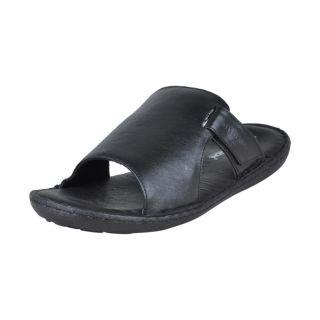 Franco Leone Casual Black Designer Sandal
