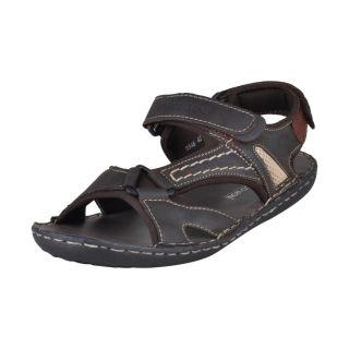 Franco Leone Stylish Men's Brown Sandals