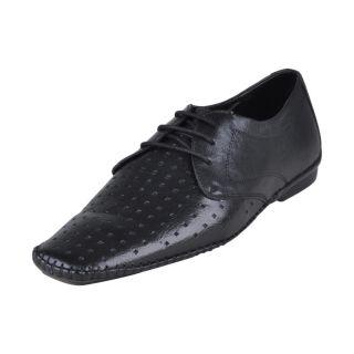 Franco Leone Men's Black Shoes - Design 4