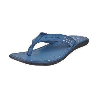 Franco Leone Blue Slipper - Design 1