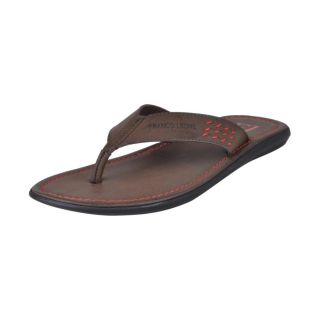Franco Leone Brown Slipper - Design 2