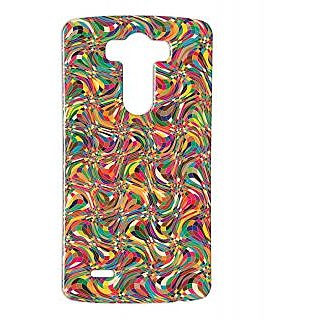 Pickpattern Back Cover For Lg G3 COLOURPSYCHEDELICLGG3-12725