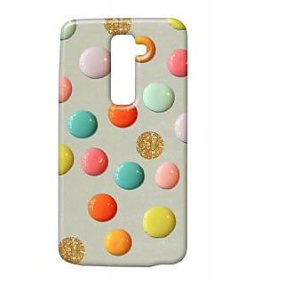 Pickpattern Back Cover For Lg G2 GEMSPATTERNLGG2-15939