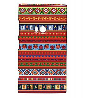 Pickpattern Back Cover For Nokia Lumia 920 REDETHNIC920-12219