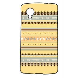 Pickpattern Back Cover For Lg Google Nexus 5 YELLOWAZTECHN5-14946
