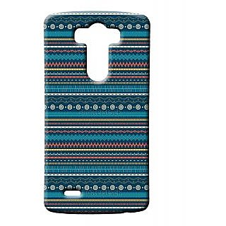 Pickpattern Back Cover For Lg G3 BLUECARPETLGG3-12673