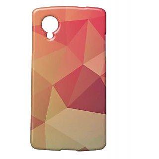 Pickpattern Back Cover For Lg Google Nexus 5 SHADYREDN5-14780