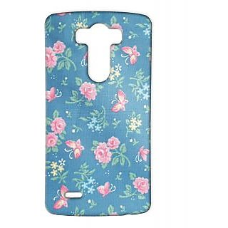Pickpattern Back Cover For Lg G3 BUTTERFLYFABRICLGG3-12855