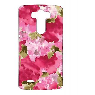 Pickpattern Back Cover For Lg G3 PINKMOGRALGG3-12740