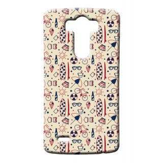 Pickpattern Back Cover For Lg G3 UMBRELLALGG3-12635
