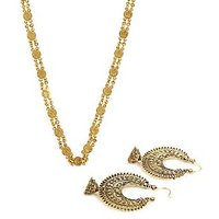Best Selling Ginni Chain And Antique Look Hanging Earrings Combo