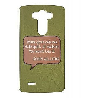Pickpattern Back Cover For Lg G3 ROBINWILLIAMSLGG3-12707