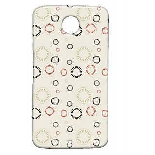 Pickpattern Back Cover For Motorola Google Nexus 6 CIRCULARPATTERNN6-17839
