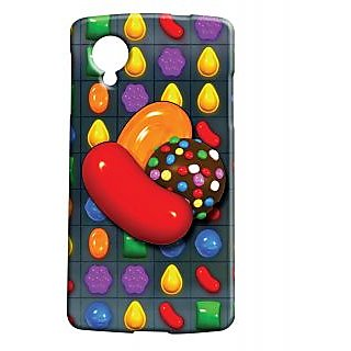 Pickpattern Back Cover For Lg Google Nexus 5 CANDYCRUSHN5-14246