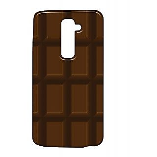 Pickpattern Back Cover For Lg G2 CHOCOLATEBARCOVERLGG2-15817