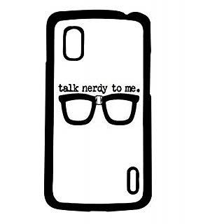 Pickpattern Back Cover For Lg Google Nexus 4 NERDYLOOKN4-17238