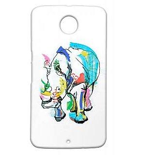 Pickpattern Back Cover For Motorola Google Nexus 6 RINON6-17564