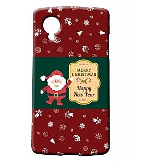 Pickpattern Back Cover For Lg Google Nexus 5 SANTAN5-14975