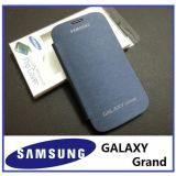 NEW BLUE HARD BACK FLIP CASE COVER POUCH FOR SAMSUNG Galaxy Grand Duos I9082