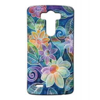 Pickpattern Back Cover For Lg G3 FLOWERVASELGG3-13363