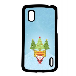 Pickpattern Back Cover For Lg Google Nexus 4 MERRYCHRISTMASN4-16699
